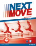 Next Move 4 ćwiczenia Workbook + CD mp3 -Pearson