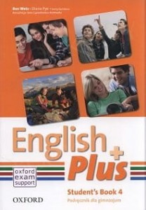 English Plus 4 podręcznik Student's book OXFORD